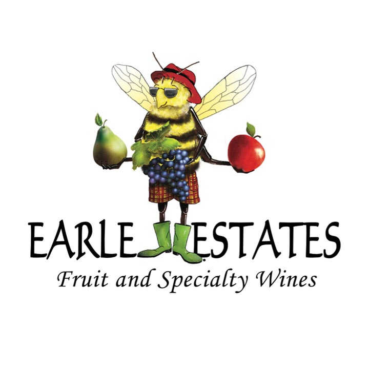 Earl Estates Fruit and Specialty Wines Logo and Website Link